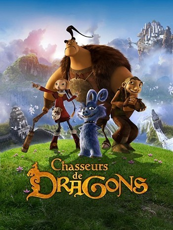 Chasseurs De Dragons Movie Poster ,