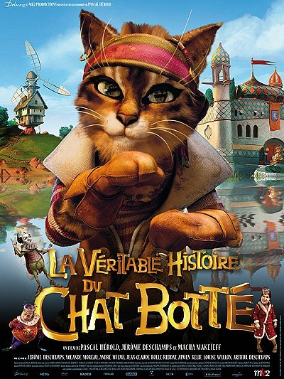 La V�ritable Histoire du Chat Bott� Original Release Poster