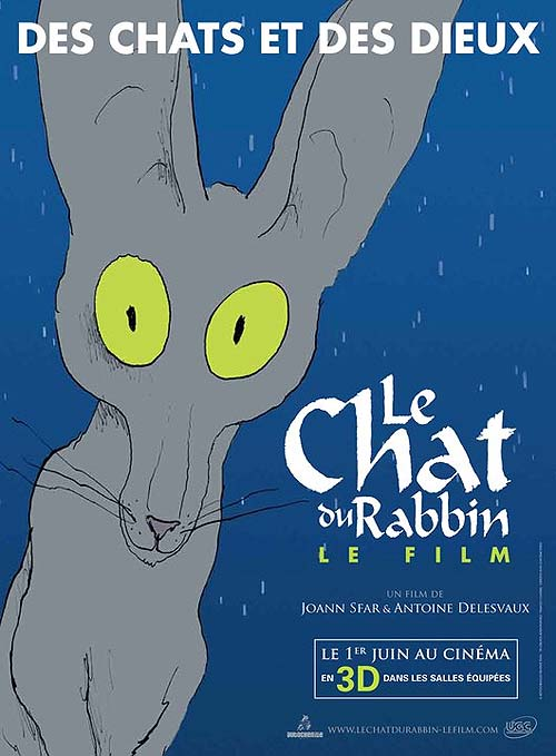 'Le Chat du Rabbin' Original French Poster