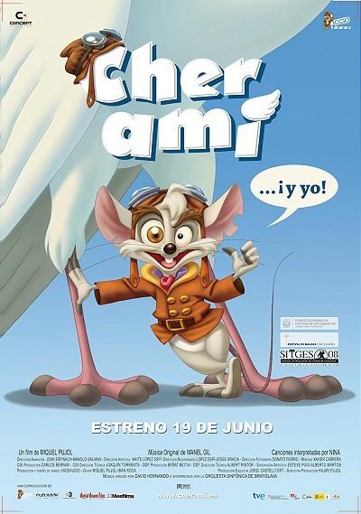 Cher Ami... ¡Y Yo! Original Release Poster