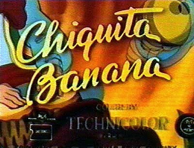 Chiquita Banana Series Title Card