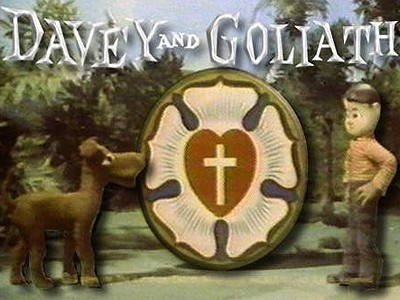 Davey and Goliath Television Series Title Card