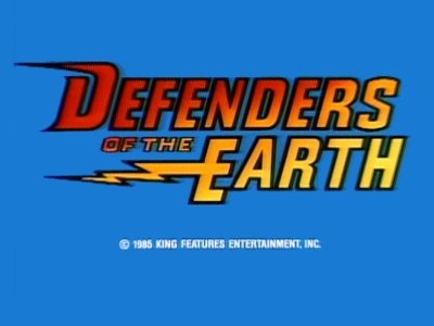 'Defenders Of The Earth Television' Series Title Card
