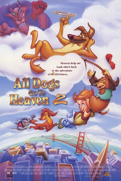 All Dogs Go To Heaven 2 Original Release Poster