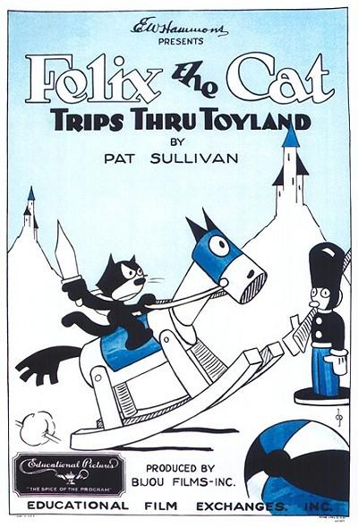 Felix Trips Thru Toyland Original Release Poster