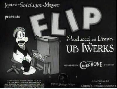 Flip's Lunch Room Original Series Title Card (MGM)