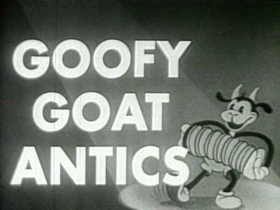 Goofy Goat Official Films Reissue Title Card