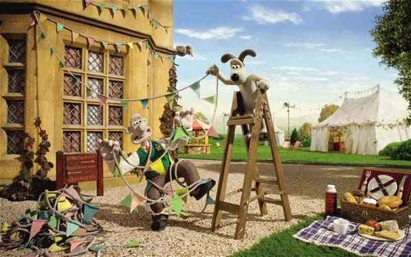 Wallace And Gromit's Jubilee Bunt-a-thon Production Image