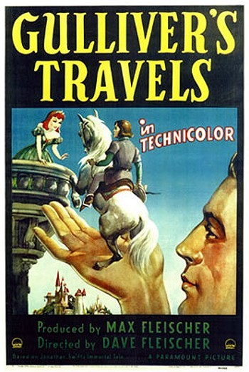 Gulliver's Travels Original Release Poster