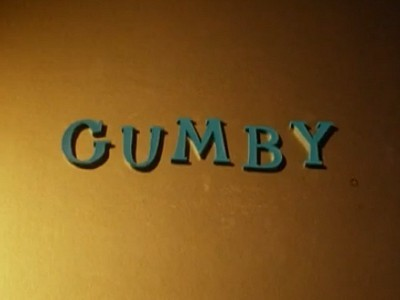 The Gumby Show Television Series Title Card