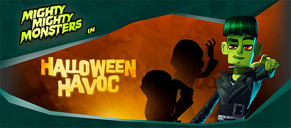 Halloween Havoc Title Card