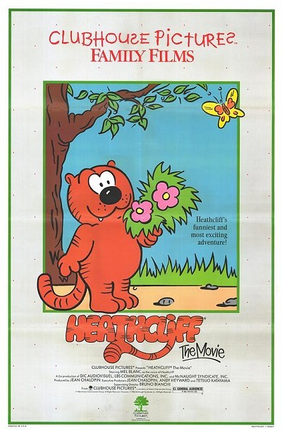Heathcliff: The Movie Original Release Poster