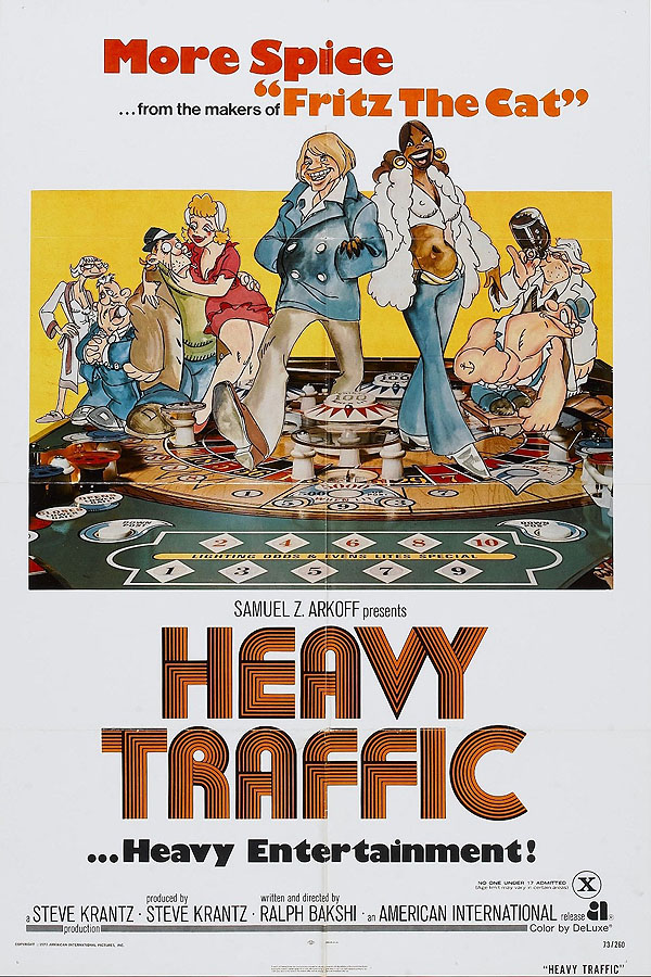 Heavy Traffic Original Release Poster