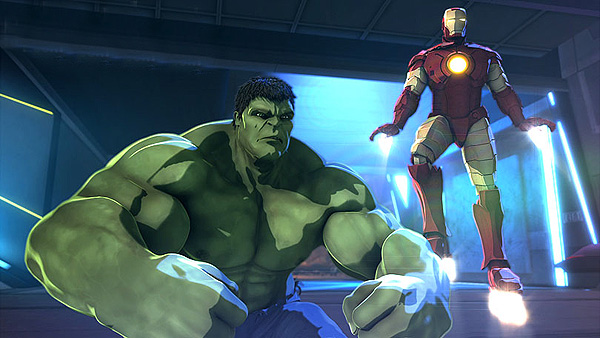'Iron Man & Hulk: Heroes United' Promotional Image