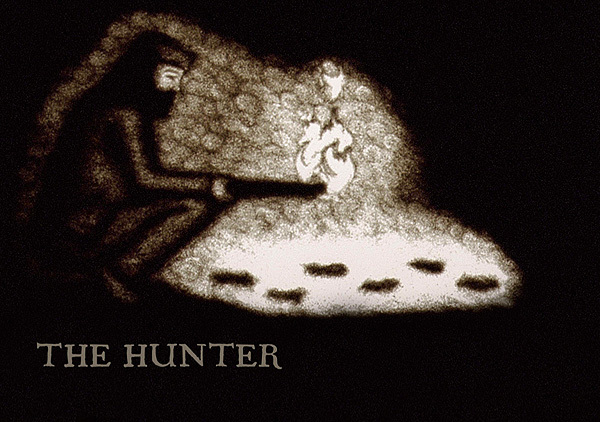 The Hunter Title Card