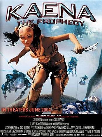'Kaena, Le Proph�tie' Original US Release Poster