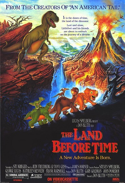 The Land Before Time Original Release Poster