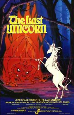 'The Last Unicorn' Poster