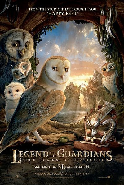 Legend of the Guardians: The Owls of Ga'Hoole Pre Release Poster