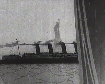The Lusitania Leaves New York