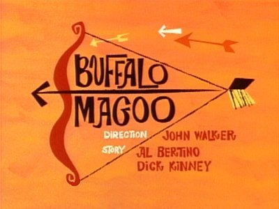 Buffalo Magoo Television Episode Title Card