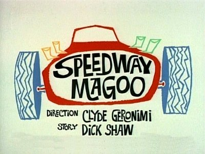 Speedway Magoo Television Episode Title Card