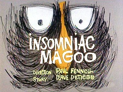 Insomniac Magoo Television Episode Title Card