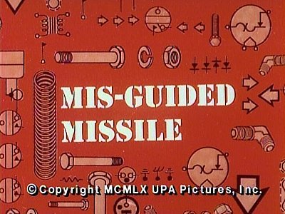 'Mis-Guided Missile Television Episode' Title Card