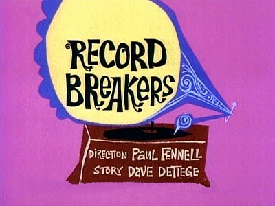 Record Breakers Television Episode Title Card