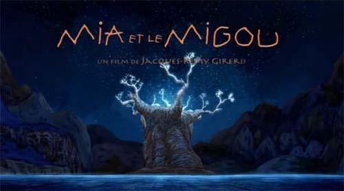 <i>Mia Et Le Migou</i> Title Card