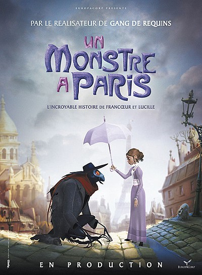 Un Monstre � Paris Poster