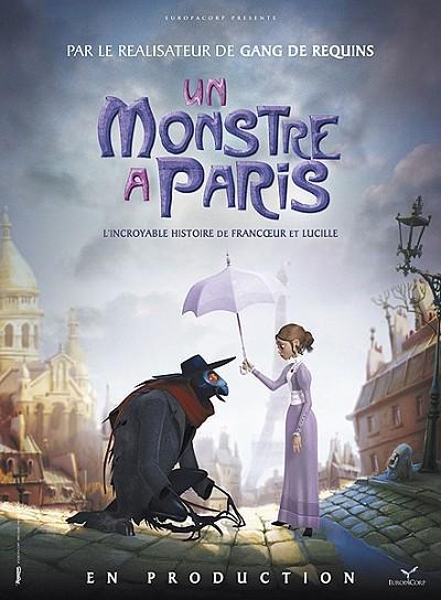 Un Monstre � Paris Poster