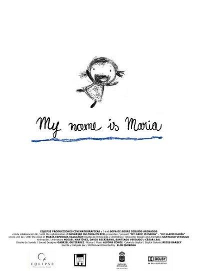 Me Llamo Mar�a Original Release Poster