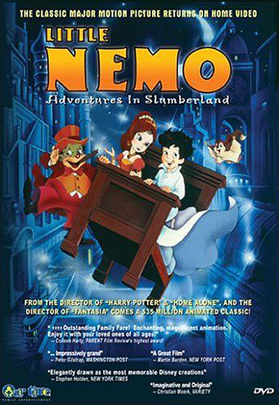 Little Nemo: Adventures In Slumberland DVD Release Poster