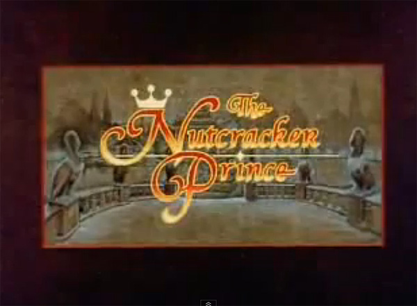 'The Nutcracker Prince' Title Card