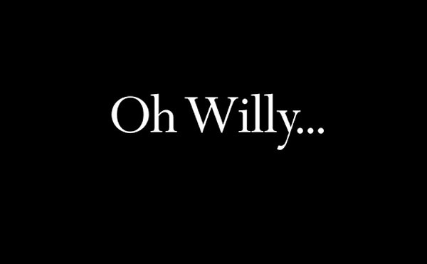 'Oh Willy...' Title Card