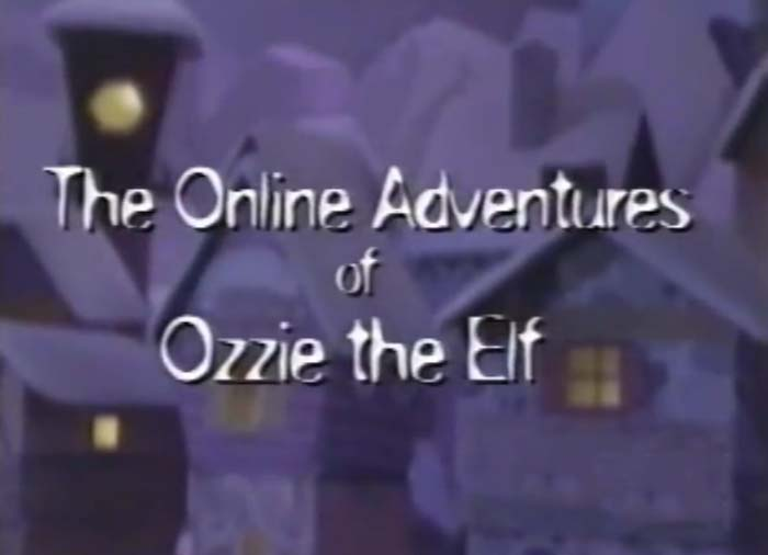 The Online Adventures Of Ozzie The Elf Title Card