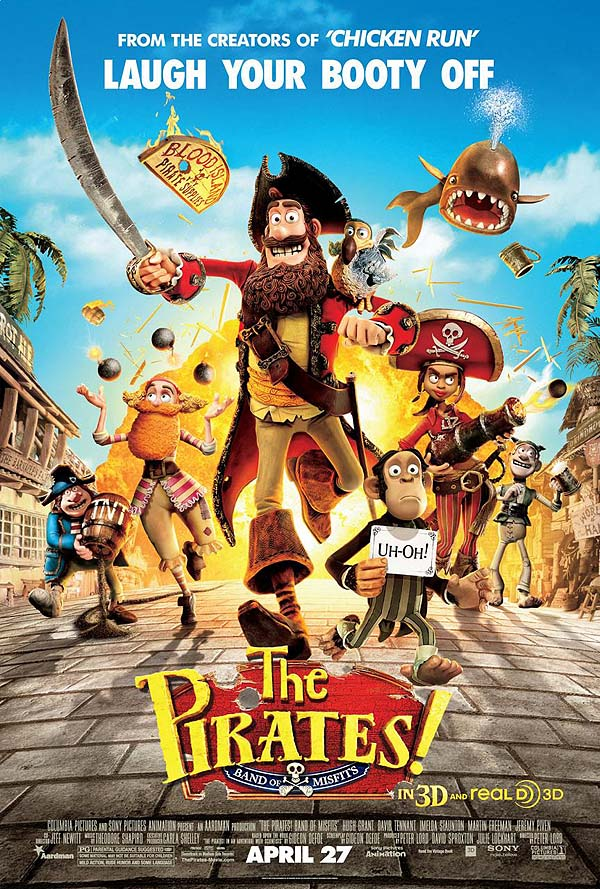 U.S. Release Poster (The Pirates! Band of Misfits)