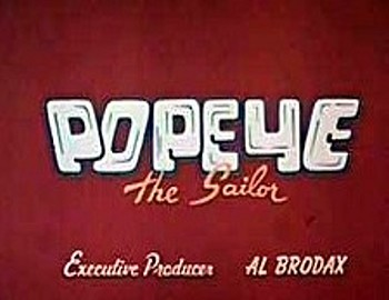 <i>Popeye Television</i> Series Title Card