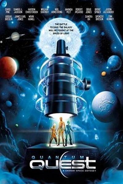 Quantum Quest: A Cassini Space Odyssey Release Poster