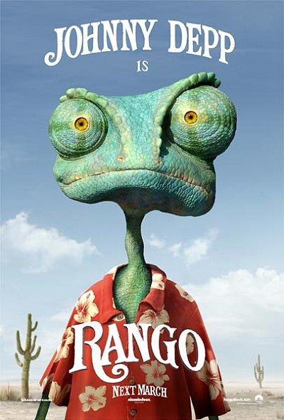 Rango Pre-Release Poster