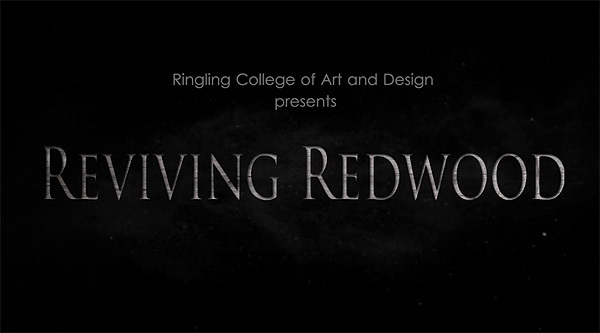 'Reviving Redwood' Title Card