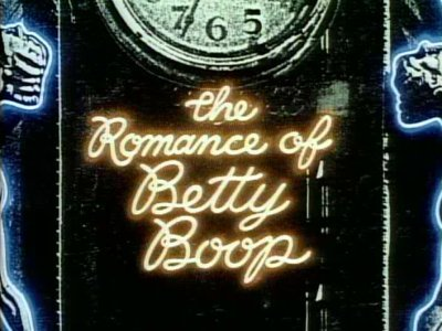 The Romance Of Betty Boop Title Card