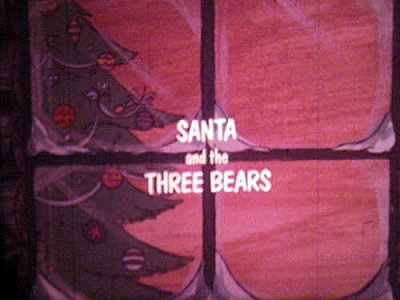 Santa And The Three Bears Original Title Card