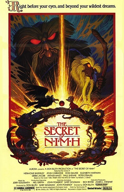 The Secret Of NIMH Original Release Poster