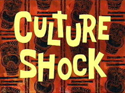 'Culture Shock Television Episode' Title Card