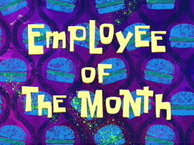 Employee Of The Month Television Episode Title Card