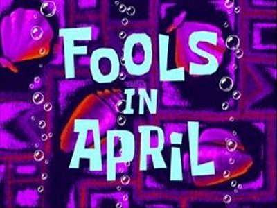 Fools In April Television Episode Title Card