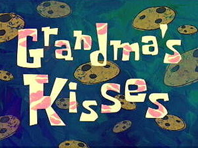 Grandma's Kisses Television Episode Title Card