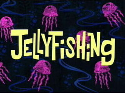 Jellyfishing Television Episode Title Card